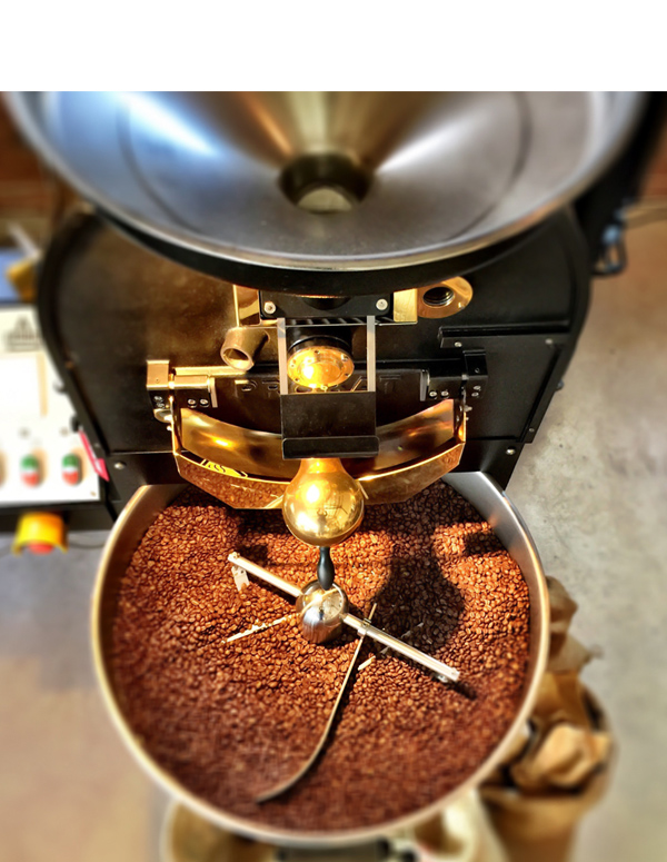 small batch coffee roaster